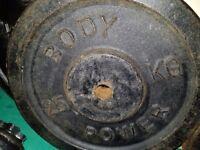 2x25kg metal weight plates.50kg