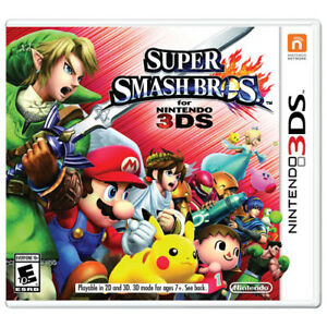Super smash bros 3ds & others