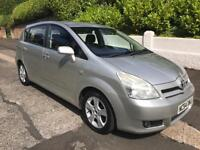 2005 TOYOTA COROLLA VERSO SEVEN SEATER MOT UNTIL JUNE