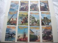 Vintage Meccano Magazines 1949, Dinky Ad's, Full Year Collection (12 Issues).