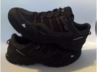 QUECHUA ARPENAZ NOVADRY GENTS WATERPROOF SHOES LIGHTWEIGHT DURABLE SIZE 8