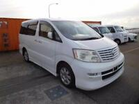 TOYOTA ALPHARD 3.0 4WD MZG HIGH SPEC 8/2002 7 LEATHER SEATS GRADE 3.5B IN UK