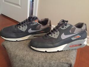 Air Max 90 (Grey/Orange)