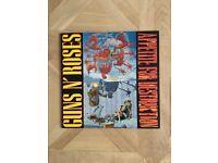 Guns N' Roses+more job lot vinyl (including banned 'Appetite For Destruction' album)