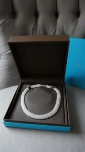 AUTHENTIC BIRKS STATEMENT NECKLACE AND CRYSTAL FRAMES