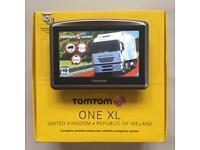 Tom Tom XL HGV, Brand New V991 Europe Truck Map, Boxed, Like New, July 2017 !!!