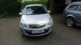 Vauxhall Corsa 1.4 2013 Only 7569miles, 1 owner
