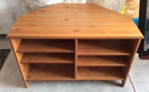 Pine Entertainment unit and TV Stand