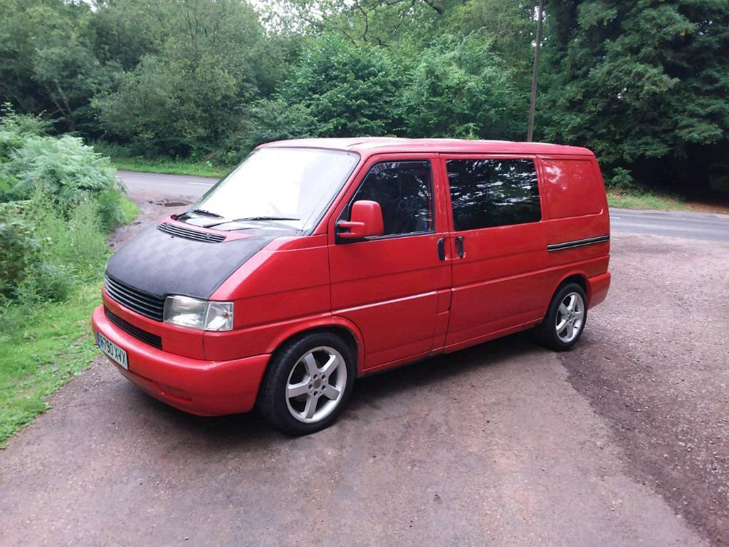Vw Transporter T4 Tailgate Day Van Volkswagen Ready For Conversion