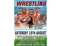 Live Wrestling In Twechar featuring WWE star and Roh star