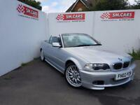 2002 02 BMW 325 CI M-SPORT CONVERTIBLE.LOW MILEAGE.2 KEYS.GREAT EXAMPLE .