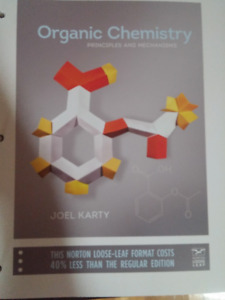 Organic Chemistry textbook + Solution Manual/Study Guide