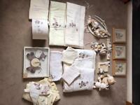Mamas and Papas Zeddy and Parsnip nursery set!