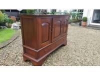 Solid mahogany sideboard