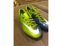 Nike football ball boots and astro trainers size 4