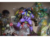 Selection of Teenage Mutant Ninja Turtles Action figures