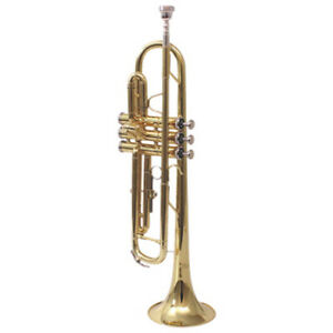 Nuova Brass Trumpet With Case (NTR-3L ) - Yellow Brass New