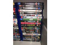 110 Blu-Ray Movies - All Working With Cases