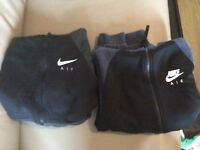 2 Nike Air hoodies