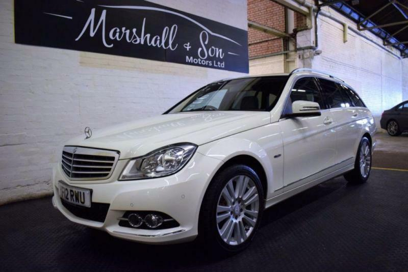 2012 12 MERCEDES-BENZ C CLASS 2.1 C200 CDI BLUEEFFICIENCY ELEGANCE ESTATE 5D 135