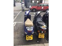 Vespa et4 124cc 2000 in need of service and mot 350