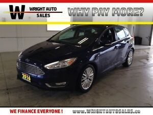 2016 Ford Focus TITANIUM|NAVIGATION|SUNROOF|LEATHER|55,303 KMS