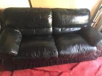 Leather 2 seater sofa FREE