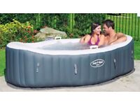 Lay-Z-Spa Hot Tub Jacuzzi Massage Inflatable System 1-2 Person