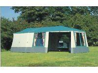 Conway Camborne Trailer Tent - Large 6 Berth 6.2 x 4.4M