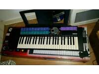 YAMAHA PSR-73 ELECTRONIC MUSIC KEYBOARD WITH STAND AND AC ADAPTER