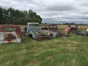 Late 40s early 50s ford/merc trucks