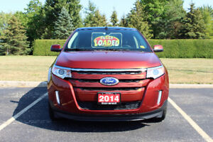2014 Ford Edge SEL SUV, Crossover, Navigation,Sun-Roof,Leather