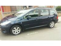 PEUGEOT 307 1.6S 5 DOOR ESTATE WITH 1 YEARS FULL MOT LADY OWNER FREE 3 MONTHS WARRANTY