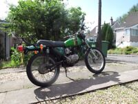 For sale 1980-A9 Kawasaki KE100 fully registered and MOTed 4650 miles £995
