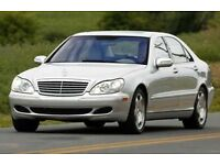 MERCEDES S CLASS W220 BREAKING SPARE PARTS