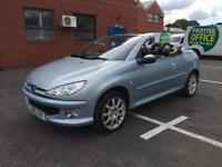 Peugeot 206 petrol 2005 low mileage full-service automatic 1.6