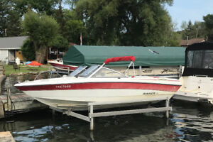 Well Maintained 19 Ft. Bowrider and Trailer