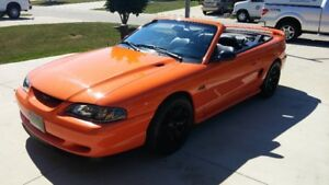 1996 Ford Mustang GT Convertible low k's