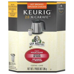 Keurig k-carafe coffee. Very tasteful!!
