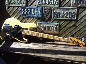 olympic white vintage 1977 FENDER JAZZ BASS