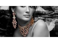 Ethnic Jewels Alloy Jewellery Set For Women.