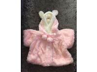 0-6months girls coat