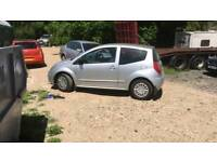 Breaking citroen c2 petrol 1.4 all parts available