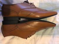 Men's brown shoes size 12 new unused from buttons