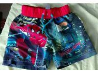Baby boy Spider-Man marvel swim shorts