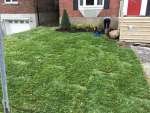 landscaping BEST PRICING IN MONTREAL!!!