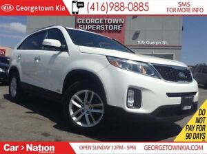 2015 Kia Sorento LX V6 w/7-Seat| ALL WHEEL DRIVE | PARKING SENSO
