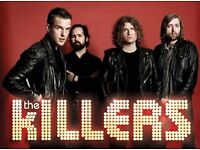 The Killers ticket Aberdeen, concert