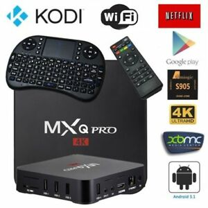 2017 QUAD CORE MXQ MXQ PRO KODI Android TV Box 8gb IPTV