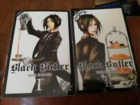 Black Butler vol1+2 £10